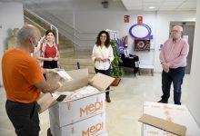 Les mascaretes higièniques adquirides per la Mancomunitat de l'Horta Sud comencen a arribar als municipis de la comarca