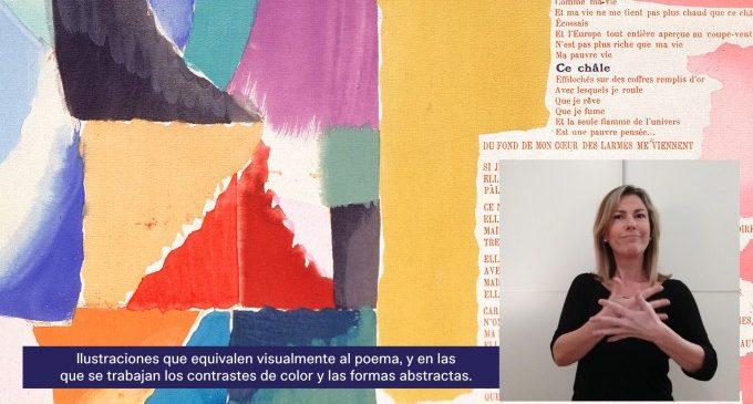 L'IVAM acosta les obres mestres de la Col·lecció a persones sordes