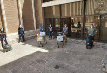El Ayuntamiento de Almussafes inicia el primer reparto de mascarillas infantiles