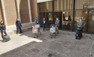 L'Ajuntament d'Almussafes inicia el primer repartiment de mascaretes infantils