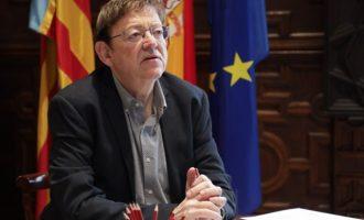 Ximo Puig insta per carta a 329 líders regionals europeus al fet que alcen la seua veu davant la UE enfront de 'la major emergència des de la Segona Guerra Mundial'