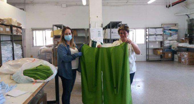 Els veïns de Benetússer fabriquen 7000 mascaretes per a l'Hospital Peset de València