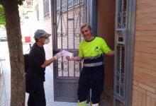 Comença el repartiment de 14.000 mascaretes a tots els habitatges de Benetússer