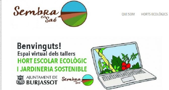 El Programa d'Horts Escolars i Jardineria Sostenible continua el seu desenvolupament amb activitats telemàtiques