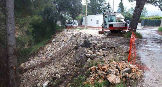 La reparació dels camins més afectats per la DANA no es deté a Ontinyent