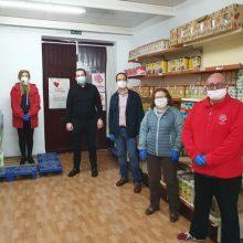 L'Ajuntament d'Aldaia fa una nova aportació en productes de primera necessitat a Caritas
