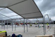 L'estructura dels hospitals de campanya valencians estarà acabada entre el 8 i el 10 d'abril