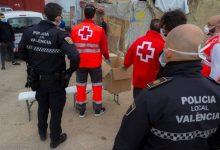 L'atenció humanitària de la Policia Local de València es