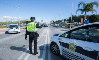 La Policía Local de Gandia impone 225 sanciones por no respetar el estado de alarma durante Semana Santa