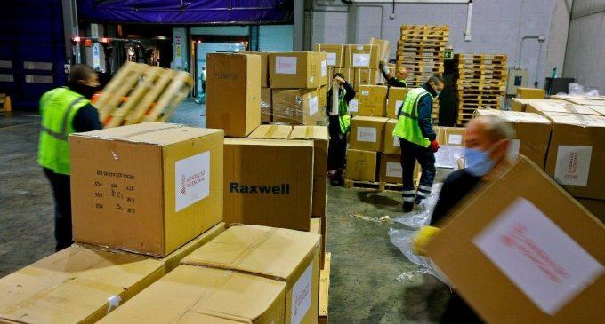 La Comunitat Valenciana rebrà fins a 15 avions amb material sanitari