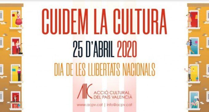 La manifestació del 25 d'Abril es trasllada a les xarxes amb una cridada a cuidar a la cultura