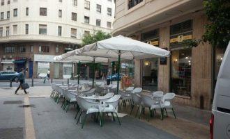 L'Ajuntament de Sueca suspèn el pagament per ocupació de la via pública a bars i restaurants