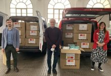 """La ciutat xinesa de Guangzhou dona 50.000 mascaretes a València, que agraeix la seua """"solidaritat"""""""