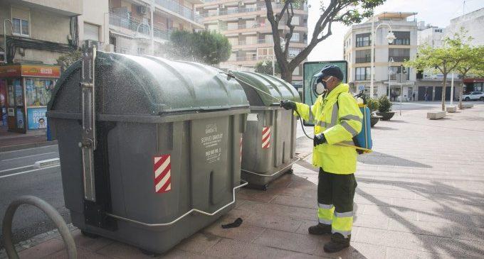 Gandia intensifica la desinfección viaria en todo el término municipal