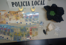 La policía de Massamagrell detiene a un individuo con sustancias psicotrópicas