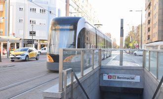 Metrovalencia i TRAM augmenten més d'un 20% el nombre de viatgers amb la Fase 2