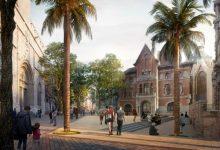 La remodelació de la plaça de Bruges i l'entorn del Mercat Central podria començar al maig