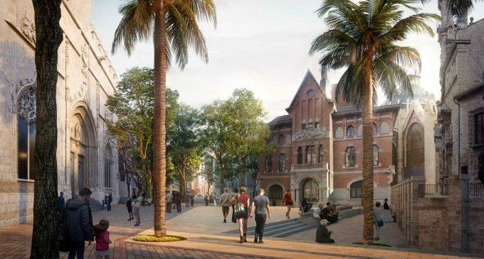 Europa finançarà prop del 40% de la reforma de la plaça de Bruges i el Mercat