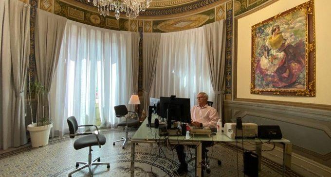 Ribó reivindica l'eficaç gestió econòmica de l'Ajuntament de València