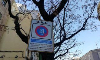 El servicio de la ORA se reanuda el próximo lunes en València