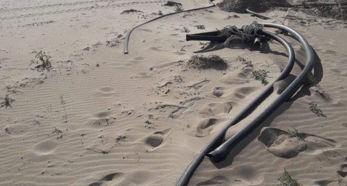 Avança la recuperació de les platges afectades pel temporal Gloria