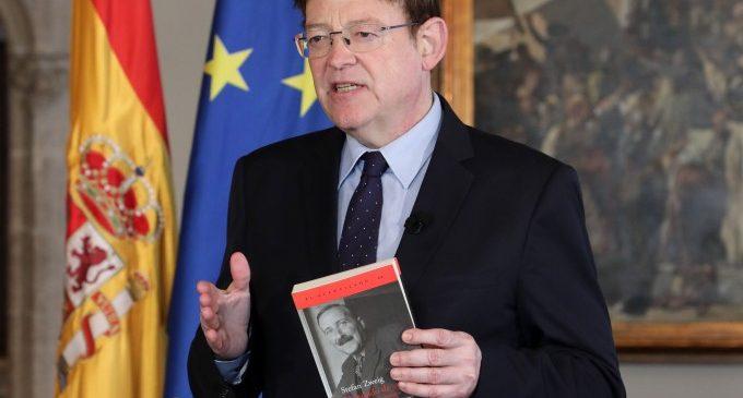 Ximo Puig exigeix a la UE en el Dia d'Europa que 'no siga indiferent' i 'faça el que faça falta' per a la recuperació