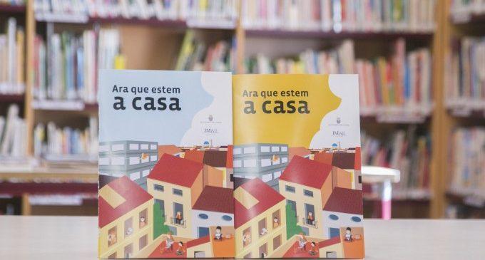 Biblioteques Gandia obsequiarà a partir de dilluns que ve el quadern 'Ara que estic a casa'