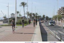 Gandia estudia tancar al trànsit el passeig marítim per augmentar els espais per a la ciutadania i hostaleria