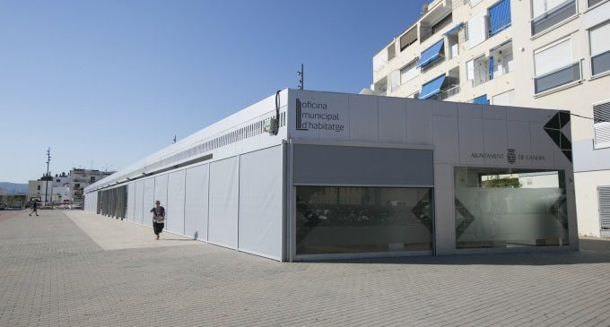 L'oficina municipal d'Habitatge de Gandia reobri les seues portes