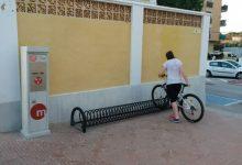 La Generalitat augmenta el nombre d'aparcabicis a les estacions de Metrovalencia