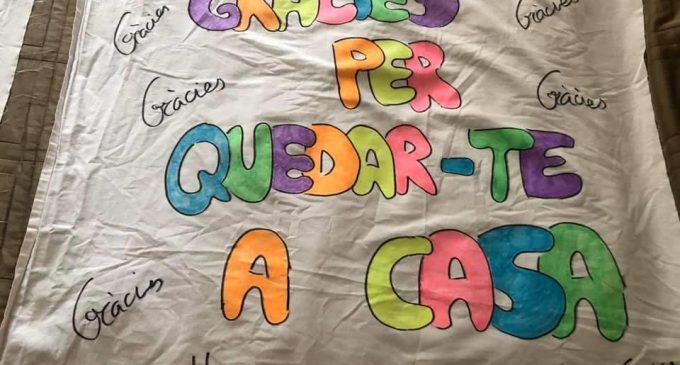 'Catarroja suma amb tú', es la propuesta de Ciutat Educadora para agradecer los mensajes de ánimo de todo el vecindario durante esta crisis