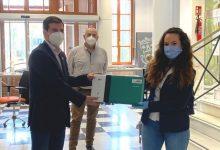 Cedeixen a Burjassot una màquina Ecofrog, que genera aigua d'ozó, per a netejar i desinfectar superfícies