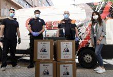 Empresas de la comarca se suman a la solidaridad paiportina donando 2.000 mascarillas al municipio