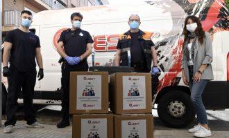 Empreses de la comarca se sumen a la solidaritat paiportina donant 2.000 màscares al municipi