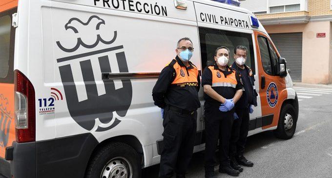 Protecció Civil de Paiporta realitza 522 serveis en suport sanitari i arriba a les 2.500 hores de dedicació