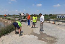 El Consell Agrari posa en marxa un pla integral de reparació de tots els camins asfaltats de Sueca
