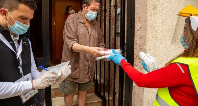 Mislata comença el repartiment generalitzat de mascaretes a tota la ciutadania