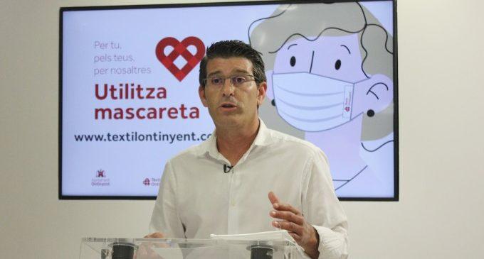 """Jorge Rodríguez anuncia un nou repartiment massiu de mascaretes """"Tèxtil Ontinyent"""" ampliat amb mascaretes infantils"""