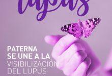 El Ayuntamiento de Paterna se ilumina de morado por el Día Mundial del Lupus
