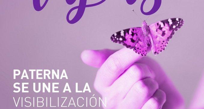 L'Ajuntament de Paterna s'il·lumina de morat pel Dia Mundial del Lupus