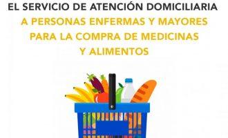 Benetússer estén el servei d'atenció domiciliària a persones malaltes i majors per a la compra de medicines i aliments