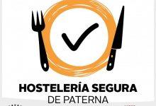 """L'Ajuntament obri el termini per a sol·licitar el segell """"Hostaleria Segura Paterna"""" per a establiments lliures de COVID-19"""