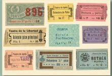 La Biblioteca Valenciana presenta l'exposició en línia 'Teatre a Escena' sobre fons de teatre i dramaturgs