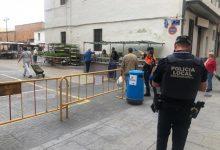 El mercado municipal de Massamagrell recibe más de 600 clientes en el día de su reapertura con controles de seguridad