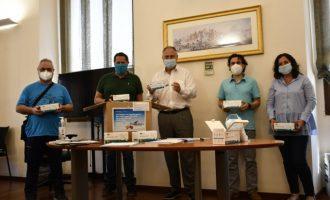 L'empresa xinesa EHang dona 20.000 mascaretes al poble de Llíria
