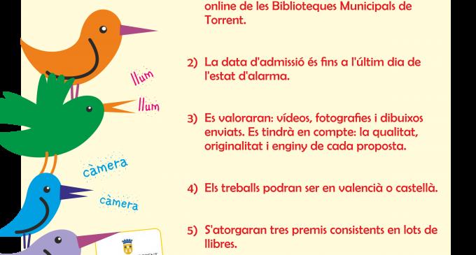 Torrent llança un concurs perquè els xiquets i xiquetes recomanen els seus llibres favorits