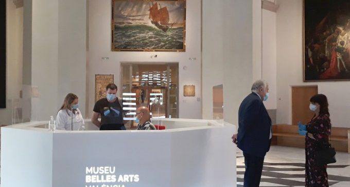 El Museu de Belles Arts de València obri amb una nova recepció de visitants