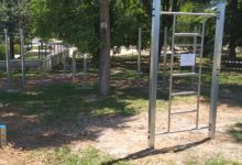 Ontinyent dota el Poliesportiu d'una nova zona de cal·listènia