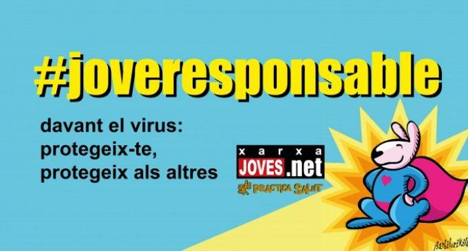 Paiporta se suma a la campanya #JoveResponsable de Joves.net per al foment d'hàbits saludables front al coronaviorus