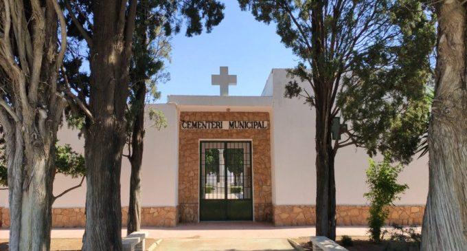El Cementeri Municipal d'Almussafes reobri les seues portes amb estrictes mesures de seguretat
